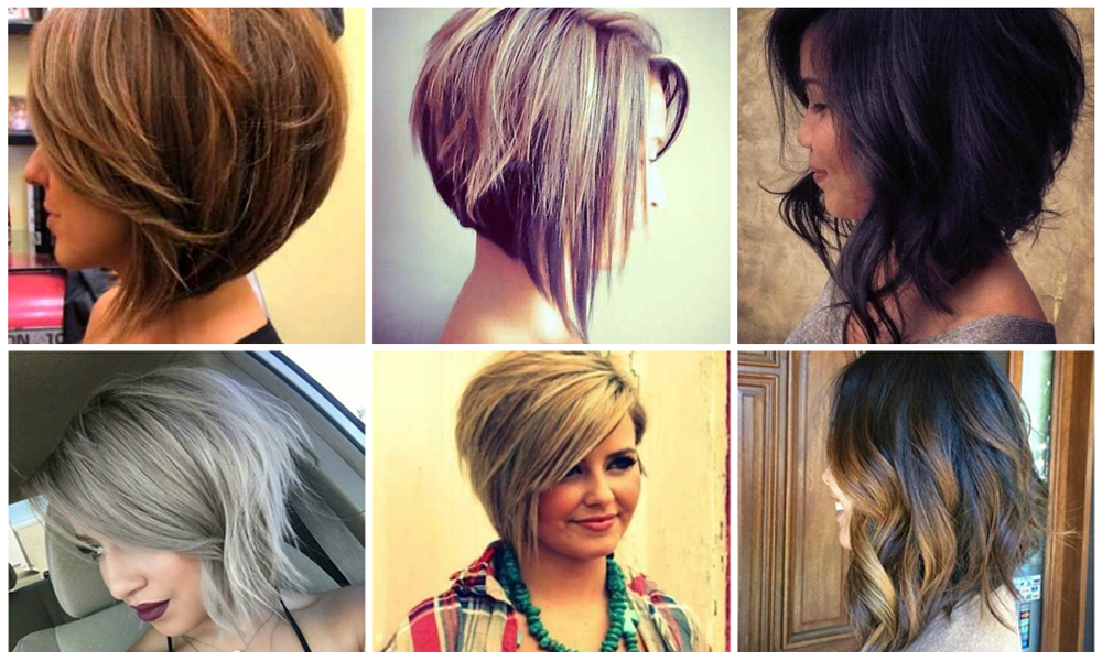 Coupe Carre Plongeant Degrade Long Hairstyles
